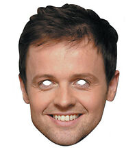 Declan Donnelly de Ant & dec celebrité carte unique 2D Fête Masque Visage dec