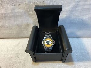 Game Time Green Bay Packers Coach Series NFL Football Quartz Analog Mens Watch