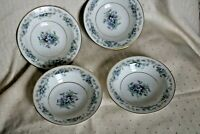 "Lot of (4) Vintage Noritake China 5 1/2"" Dessert / Fruit Bowl  Violette"