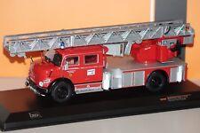 Mercedes l1113 escalera giratoria bomberos Kaufbeuren rojo 1:43 Ixo trf002 nuevo & OVP