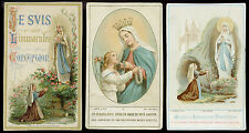lotto santini-holy cards lot-lot images pieuses-konvolut heiligenbildichen 2506
