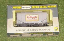 WRENN RAILWAYS OO GAUGE WAGONS W5020 BULK GRAIN KELLOGGS