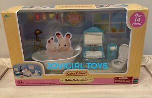 CALICO CRITTERS BUBBLY BATHROOM SET NEW IN BOX