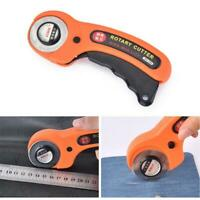 45mm Rotary Cutter Quilters Quilting Sewing Fabric Cutting Craft Tool
