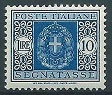 1934 REGNO SEGNATASSE 10 LIRE MNH ** - C5-3