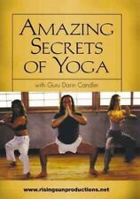Amazing Secrets of Yoga Dvd Darin Candler relieve stress toning relaxation