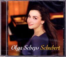 Olga SCHEPS: SCHUBERT Impromptus Diabelli-Walzer Galopp Kupelwieser Cotillon CD