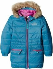 Blue Fur Coats, Jackets & Snowsuits (2-16 Years) for Girls