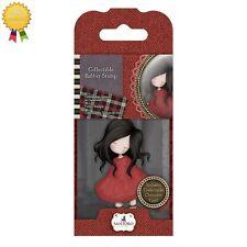 Gorjuss Rubber Mini Stamps *POPPY WOOD* Little Girl, Flowers, Card Making - 18
