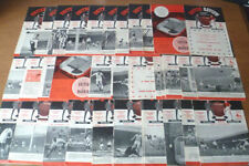 Written-on First Division Teams L-N Football Programmes