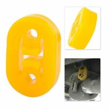Car H Shape 2 Hole Exhaust Pipe Rubber Mount Hanger Brackets Replacement