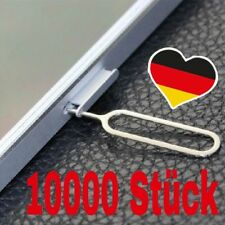 10000 x bandeja de tarjeta SIM PIN SIM pin abridor eyector iPhone Apple iPad Samsung
