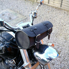 MOTORCYCLE LEATHER LARGE TOOL ROLL SADDLE BAG VICTORY VEGAS HAMMER KINGPIN