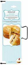 Kitchencraft Ajustable Pastel nivelación cutter/wire/saw. Repostería Casera Sugarcraft.