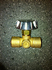 Precision controll propane brass needle valve 1/4 by 1/4 NPT female