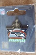 2014 Super Bowl SB 48 XLVIII Champions lapel pin Seattle Seahawks amtri