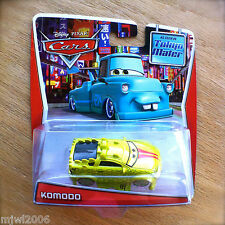 Disney World of Cars TOON KOMODO in TOKYO MATER diecast Tall Tales green Pixar