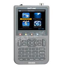 SATLINK WS-6925 Digital Satellite Meter DVB-T/T2 HD Mpe4 H.264 Terrestrial, QPSK