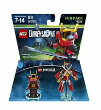 LEGO Dimensions 71216 Ninjago Fun Pack NYA & Samurai Mech AUS stock new (#1307)