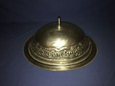 Antique Silverplate Food Cover Turkey Meat Dome ~ LARGE