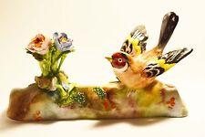 Crown Staffordshire Bird Figure England Porcelain Chaffinch 22 J T Jones