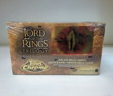 LOTR Lord of the Rings Trilogy Chrome - Sealed Trading Card Hobby Box - Topps 04