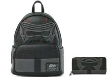 Loungefly Disney Kylo Ren Star Wars Mini Backpack and Wallet Set NWT