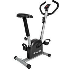Bicicleta Estática Fitness Ciclismo Cardio Deporte Gimnasia Equipamiento Negro