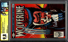 Wolverine 1 Limited Series CGC 9.8 SS X2 Signed Claremont Rubinstein WHITE PAGES