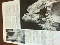 m8-1 ephemera 1938 ww1 picture article g ward price rheims cathedral burns 1914