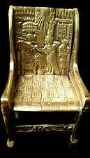 King Tutankhamun Egyptian gods chair