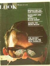 1970 Look Magazine: Secret World of the Real Gambler/Tax Churches?/Bikini