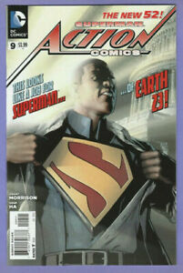ACTION COMICS #9 (1ST APP. OF CALVIN ELLIS)  DC  COMICS 2012  STOCK IMG