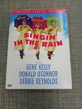 Singin' In the Rain Gene Kelly Donald O'Connor Debbie Reynolds 2 Dvd Special Edi