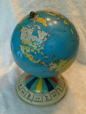 "Vintage 1950s Replogle 8"" Magnetic Air Race Globe"
