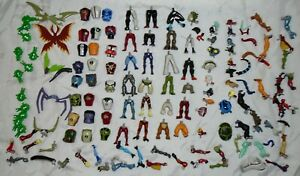 Ben Ten Creation Chamber Large Lot Of 128 Parts
