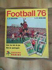 panini album complet football Belgium 1976 Belgique 76