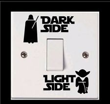 Star wars light switch decal sticker laptop car boy girl home decor