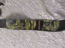 "Iron Maiden guitar strap 2 1/2"" width soft leaather"