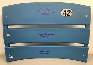 Mariano Rivera Signed Seat Back Yankee Stadium Auto HOF STATS MLB Holo PSA/DNA