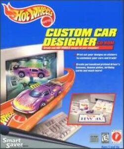 Hot Wheels Custom Car Designer PC CD print & customize accessories for playing!