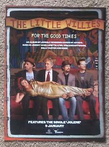 THE LITTLE WILLIES - 2012 Full page UK magazine ad NORAH JONES