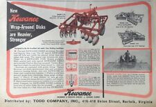 1958 AD(XF3)~KEWANEE MACHINERY & CONVEYOR CO. KEWANEE HARROW DISKS