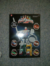 Vintage Bandai 1997 Power Rangers Deluxe Turbo  Megazord