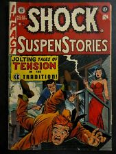 Shock SuspenStories #10 ~ (1953 EC) Kamen, Wood, Crandall, Junkie story ~  GD