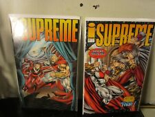 Image Comics 1994 Supreme Issue # 20-21 lot bagged boarded~