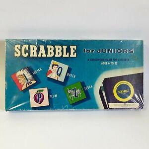 Vintage 1955 Scrabble For Juniors Board Game Murpfett Pty Ltd Games