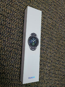 Brand New Samsung Galaxy Watch3 SM-R840 45mm Mystic Silver Stainless Steel Case