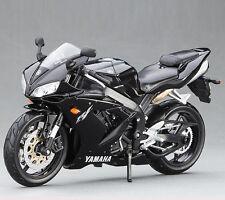 MAISTO Model Toys 1/12 Scale Black YAMAHA YZF-R1 Diecast Motorcycle Racing Moto