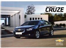 CHEVROLET Cruze 2011-12 UK Opuscolo Vendite sul mercato berlina due volumi LS LT LTZ